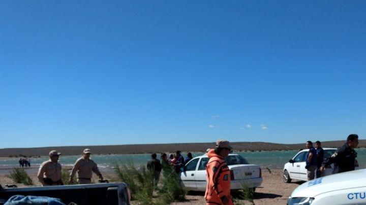 Buzos buscan a un hombre de Picún que fue a pescar al lago Ramos Mexía