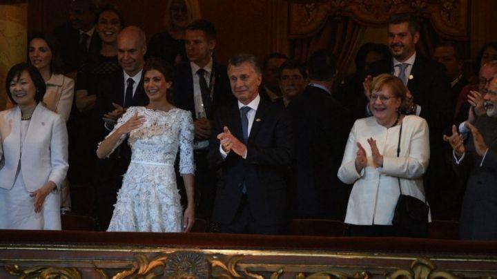 Cumbre del G20: El llanto de Mauricio Macri en el Teatro Colón