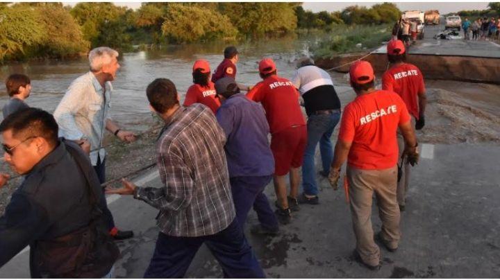 Salta: diputado fue a ayudar y terminaron limpiándole los zapatos