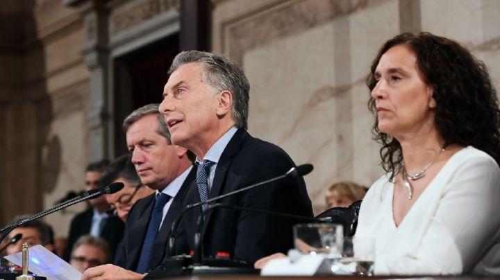 """Congreso: Macri habló de """"crecimiento invisible"""", explotaron las redes"""