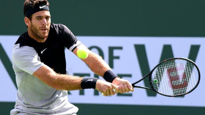 Del Potro lo hizo: ganó el duelo contra Federer y es campeón de Indian Wells