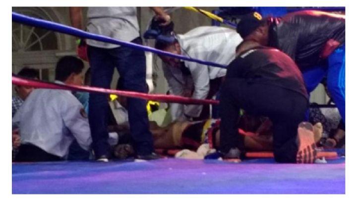 Muere boxeador tras recibir un fulminante Knock Out