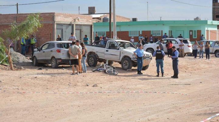 Tragedia: Le sacó la camioneta a la madre y mató a un albañil