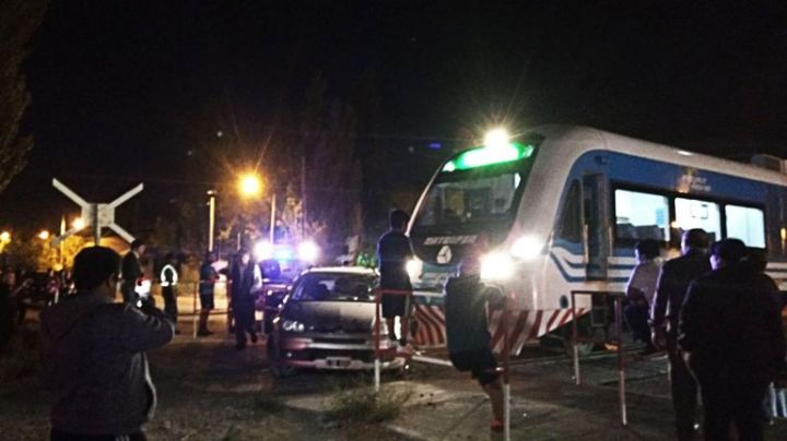 Terrible accidente del Tren del Valle en el Oeste