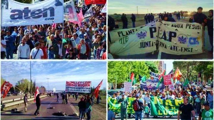 Neuquén sitiada por cortes y protestas