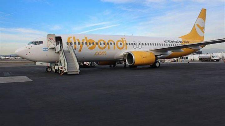 Pánico en el aire: Aterrizaje forzoso de un avión de Flybondi