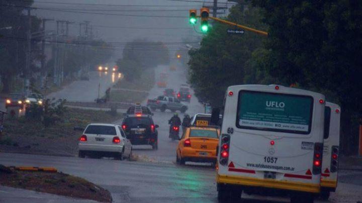 """""""Lluvioso"""": Así estará el clima hoy en Neuquén"""