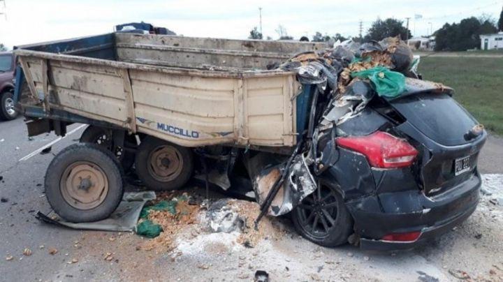 En un trágico choque, murió uno de los hijos del dueño de Autobuses Neuquén