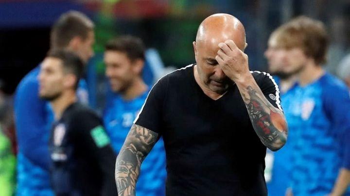 El error en un tatuaje por el que se burlan de Jorge Sampaoli. FOTO