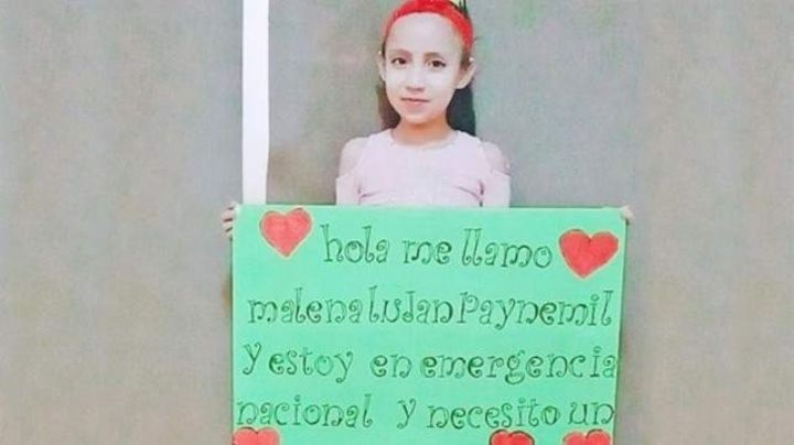 Conocé a Malena, la nena neuquina que necesita urgente un corazón