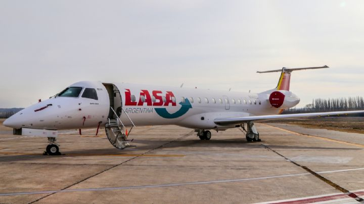 La aerolínea LASA comienza a operar en Neuquén
