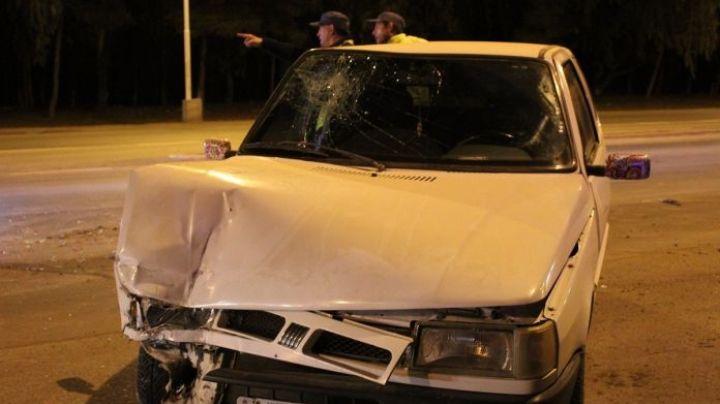 Borracho al volante casi provoca una tragedia