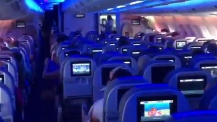 En pleno vuelo, un piloto de Aerolíneas Argentinas denunció a Guillermo Dietrich