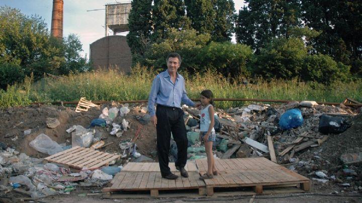 """La nena del basural reapareció: """"Yo lo ayudé a Macri y me usó"""""""