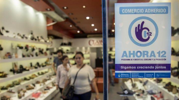 Renuevan el plan Ahora 12 para frenar fuerte caída del consumo