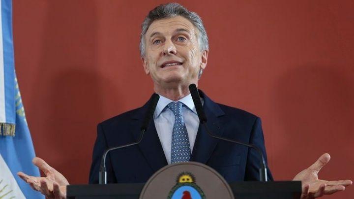 Tras la muerte de su padre, Macri reanuda la actividad oficial