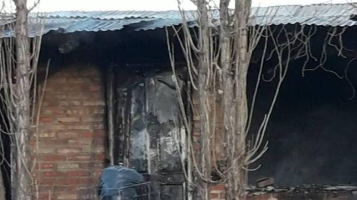 Roca: Golpeó a su ex pareja y le quemó la casa