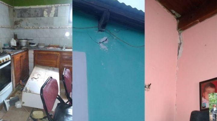 Nuevo sismo causó temor y daños en Sauzal Bonito y Añelo