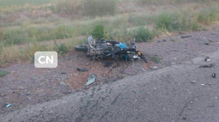 Tragedia en la ruta 7: Muere un motociclista