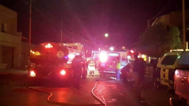 Incendio fatal en Cutral Co: Tres muertos