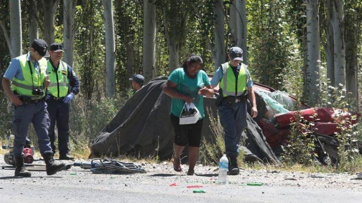 Tragedia en la ruta 7: Tres muertos