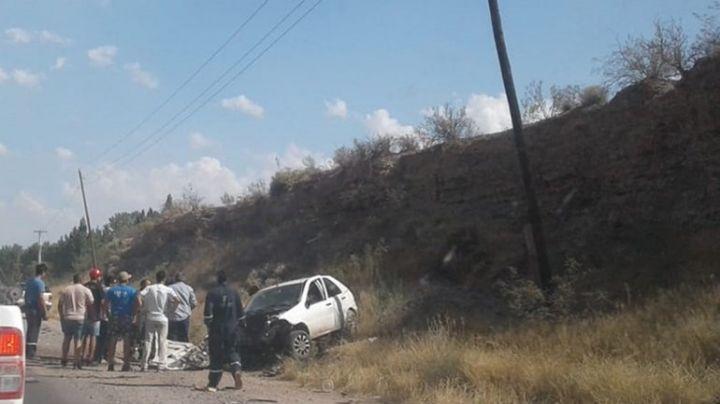 Tremendo accidente en la ruta 7. Mirá