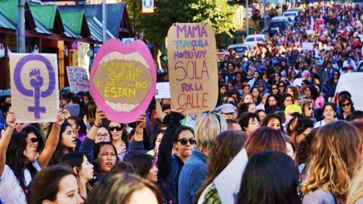 Marcha masiva para exigir justicia por el femicidio de Valeria Coppa