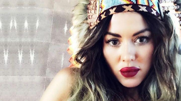 Karina Jelinek se despidió desde la cama y revolucionó Instagram... ¡sin nada puesto!