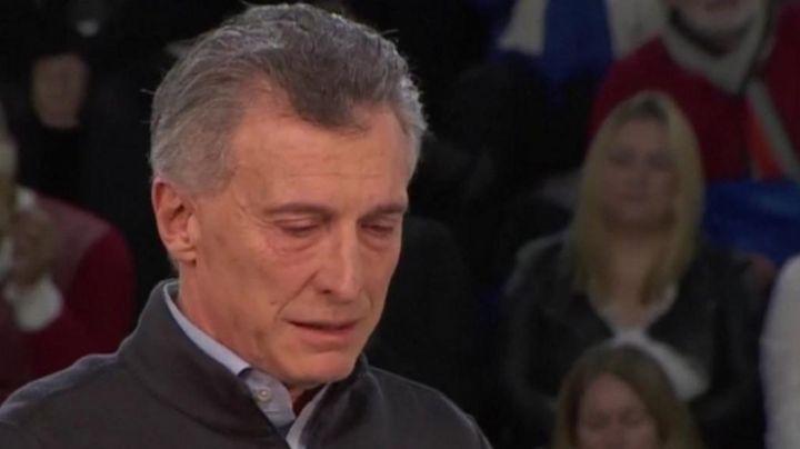 El llanto del niño que quebró a Macri en Misiones. VIDEO