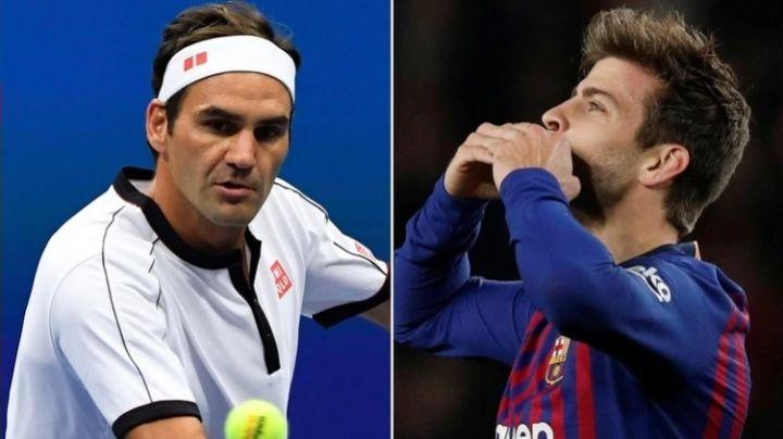 Roger Federer: Fuerte polémica entre el suizo y Piqué