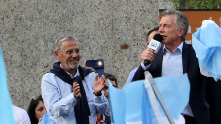 """Se lo va a extrañar"" La tristeza de Macri por la muerte de Pechi Quiroga"