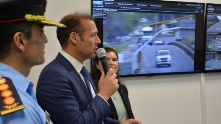 En el aniversario de Centenario quedó inaugurado el Centro de Monitoreo