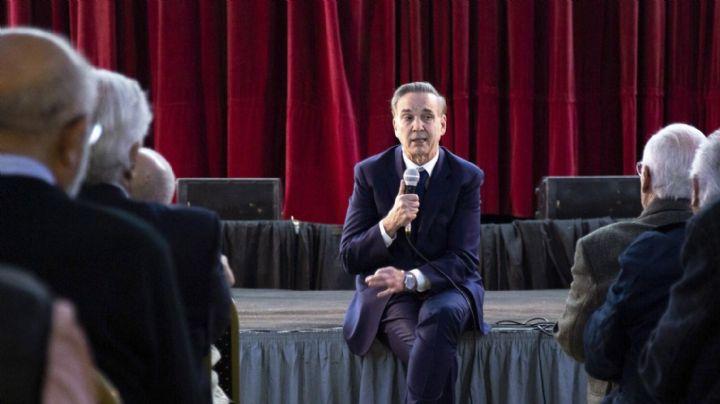 """""""La gente está repensando el voto"""", anticipó Pichetto"""