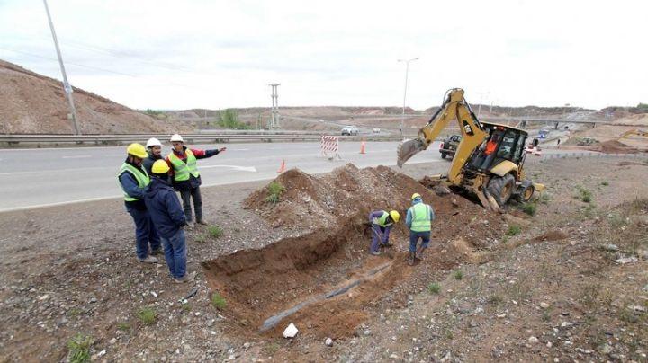 """""""Reparan el cráter"""": Trabajos en la ruta 7 y """"tránsito vedado"""""""