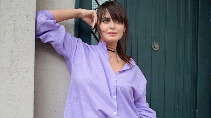 """""""¡Se toca!"""": Silvina Luna se abre la camisa blanca y... ¡enciende a sus fans!"""