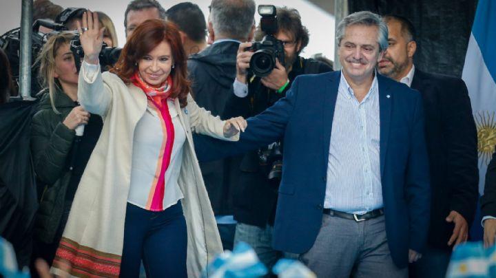 """Alberto Fernández encabeza con Cristina Kirchner el acto por el """"Día de la Lealtad"""""""