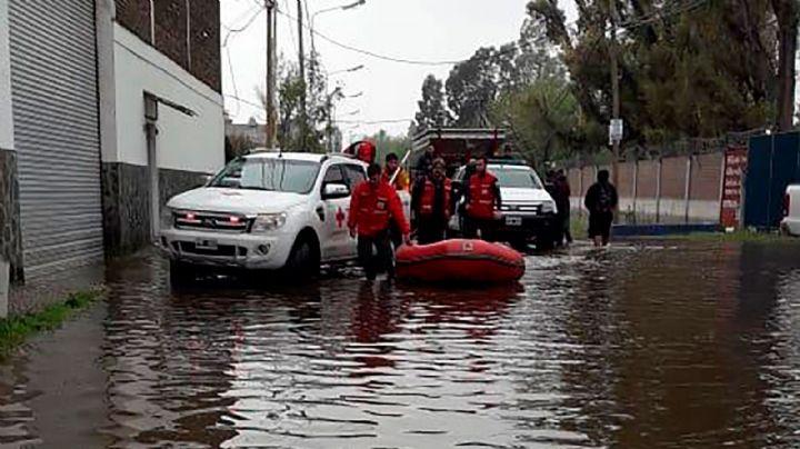 Más de 7.000 evacuados por el temporal