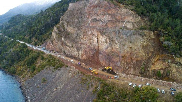 Ruta 40: ¿Cómo sigue Villa La Angostura tras el derrumbe? ¡Mirá!