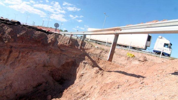 ¡Colapso de la ruta 7!: ¿Es el EPAS el gran culpable del cráter de la Autovía Norte?