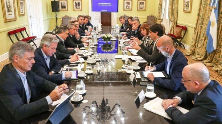 Lacunza explicó todos los detalles de la deuda en una reunión de Gabinete