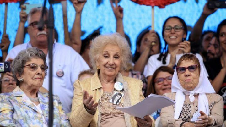 Madres y Abuelas de Plaza de Mayo se solidarizaron con el pueblo de Chile