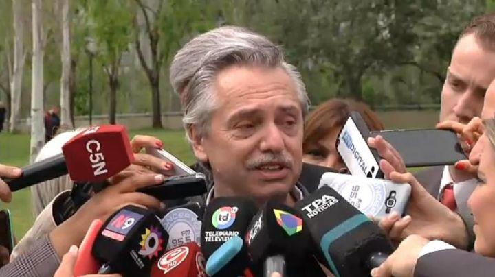 ELECCIONES ARGENTINAS 2019: Al borde de las lágrimas, Alberto Fernández recordó a Néstor Kirchner