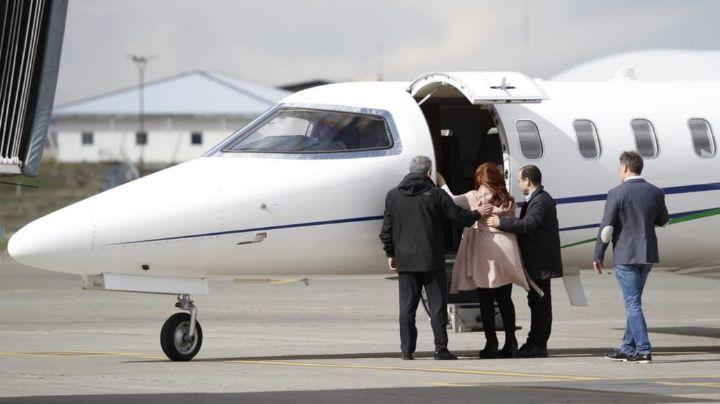 ELECCIONES ARGENTINAS 2019: Cristina Kirchner ya vuela a Buenos Aires