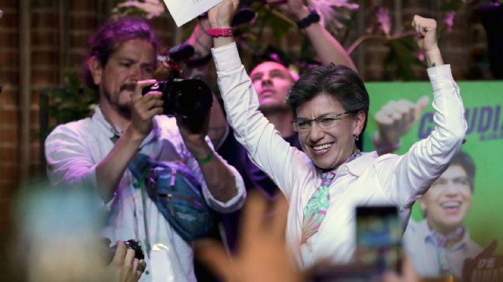 Elecciones en Colombia: Llegó a Bogotá una mujer que rompió todos los moldes