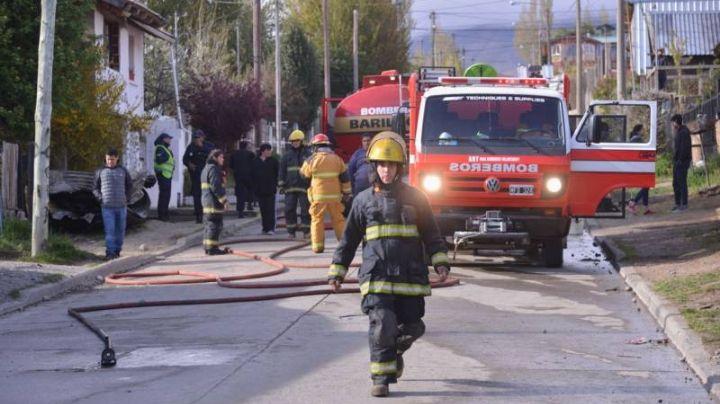 """""""Desgracia"""": Bariloche, escenario de un trágico incendio"""