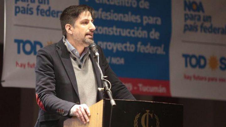 """Nicolás Trotta marca el límite y asegura que la transición """"no implica un cogobierno"""""""
