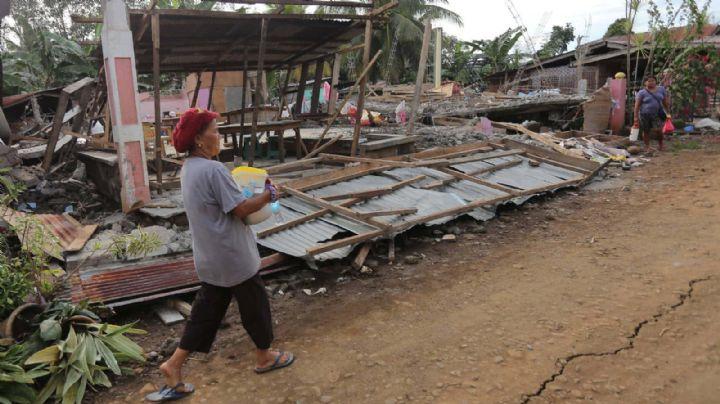 VIDEO. Sismo de magnitud 6,6 en Filipinas deja al menos 5 muertos y 70 heridos