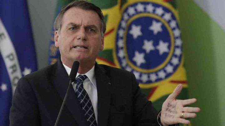 Bolsonaro volvió a atacar a Alberto Fernández