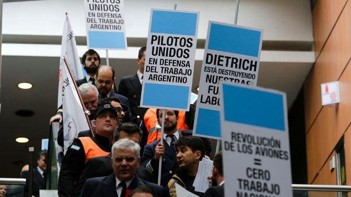 ¡No habrá vuelos de Aerolíneas Argentinas este fin de semana!