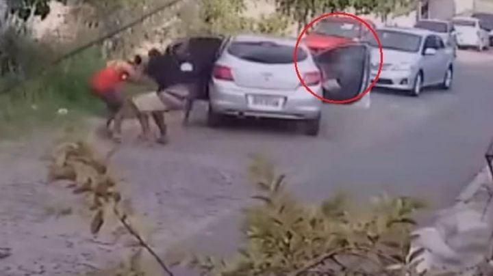 Un hombre evitó ser asaltado por simular disparos con la bocina ¡Se salvó de corneta!